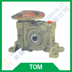 Worm reducer series TOM