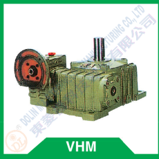 Worm reducer series VHM